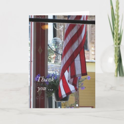Thank you & Welcome Home - Military Greeting Card card