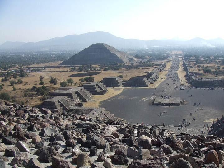 Teotihuacán hoy en día.