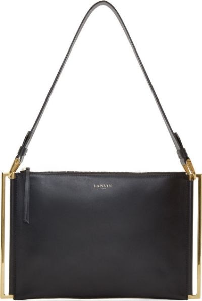 Lanvin Leather Zeeta Bag