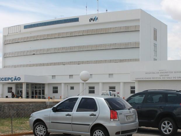 Hospital Universitário em Petrolina-PE (Foto: Larissa Paim/G1)