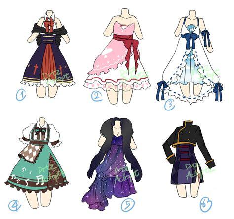 adoptable random dresses  open  drtzadopt