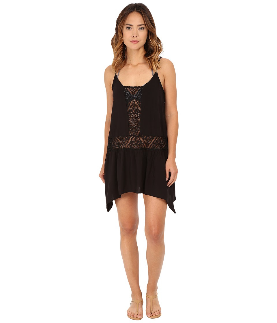 BECCA by Rebecca Virtue - Amore Dress Cover-Up (Black) Women's Swimwear