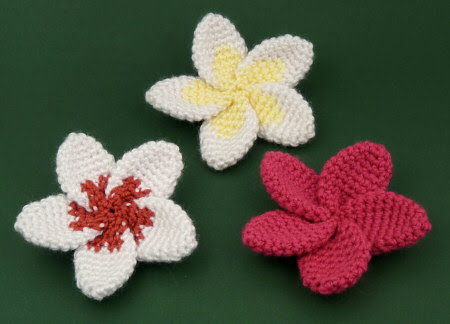 plumeria flower crochet pattern by planetjune
