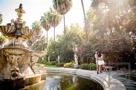 Huntington Library Engagement Photography   Nicole