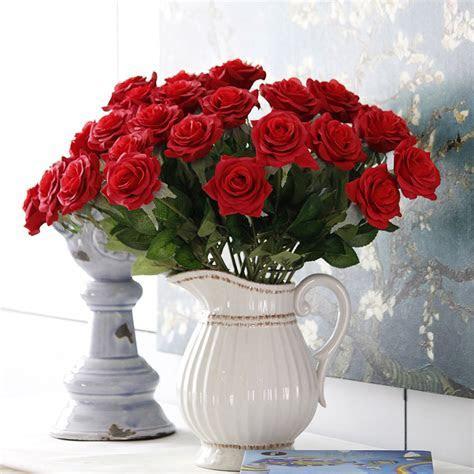 Cheap Wholesale Silk Rose Flowers Artificial Flowers