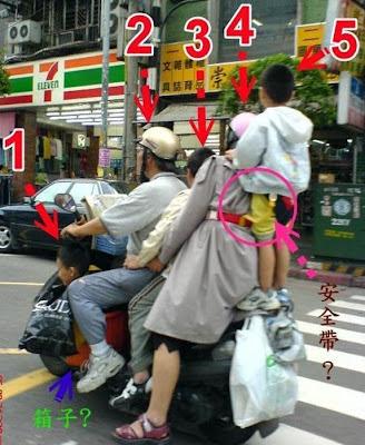 gambar motosikal di China