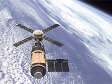 Skylab in Earth orbit