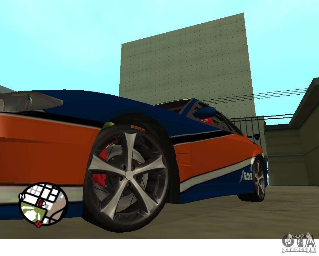 Wheels From The Game Juiced  For Gta San Andreas