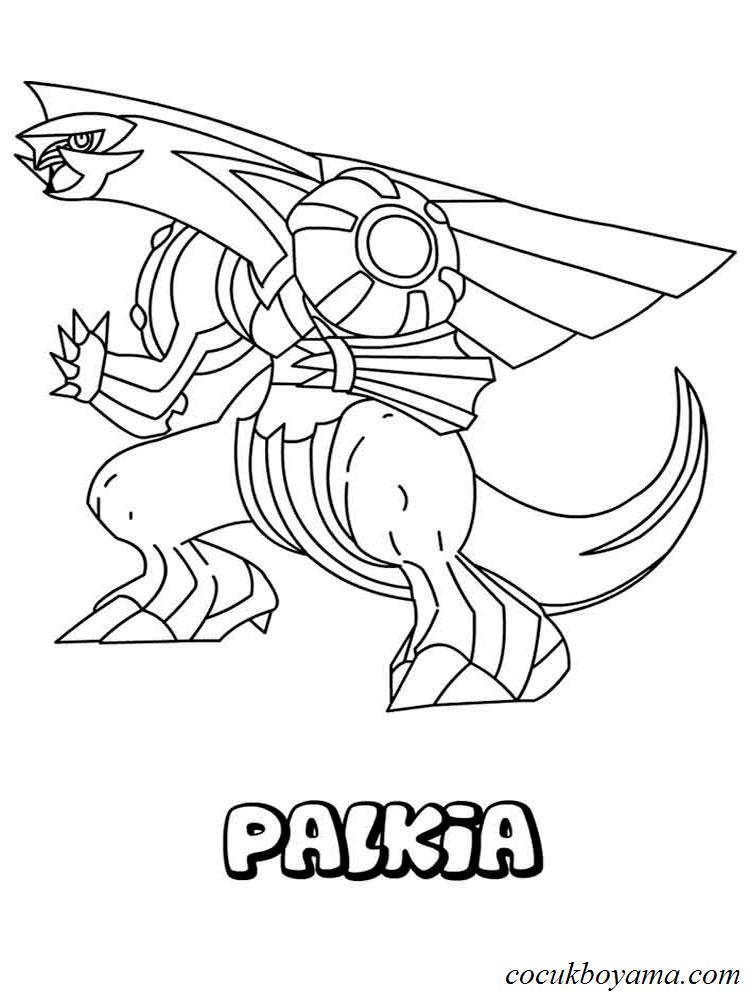 Pokemon 18 ücretsiz Boyama Resimleri
