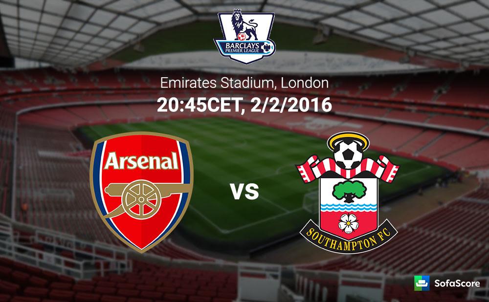 Arsenal vs Southampton - Match Preview, Live Stream ...