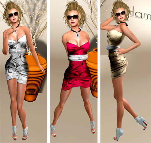 NEW! Madlene Dress by Glam Affair