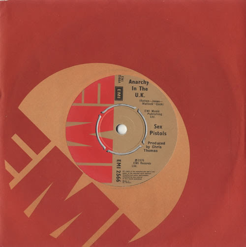 Image result for Sex Pistols Anarchy In The U.K. single eil com
