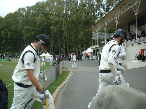 Dan Vettori and Karl Mills