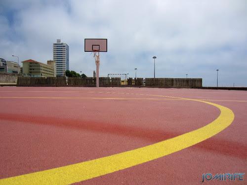 Campos de praia da Figueira da Foz / Buarcos #5 - Basquetebol (4) [en] Game fields on the beach of Figueira da Foz / Buarcos - Basketball
