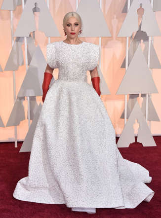 "<a href=""http://www.wonderwall.com/music/Lady-Gaga-532.celebrity"">Lady Gaga</a> attends the Academy Awards at the Dolby Theatre in Los Angeles on Feb. 22, 2015."