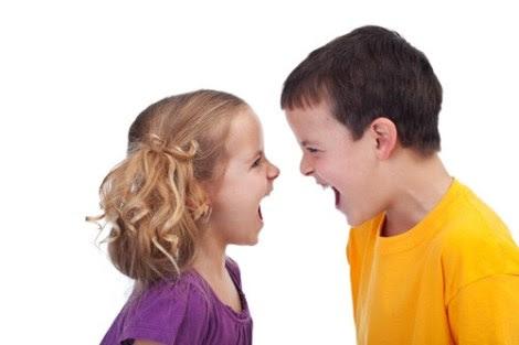 El niño y la niña difícil