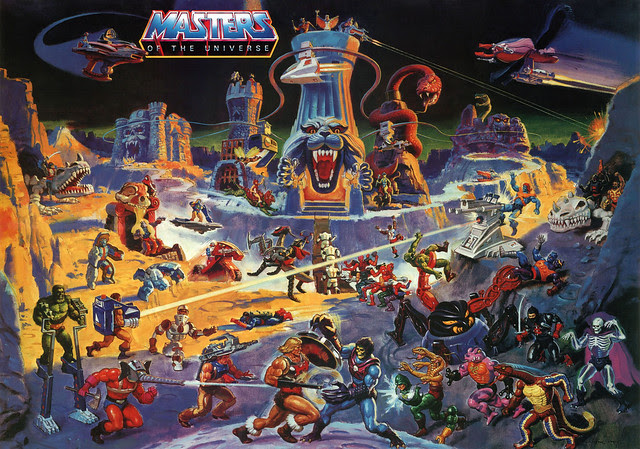Masters Of The Universe - 1 (painting by William George)