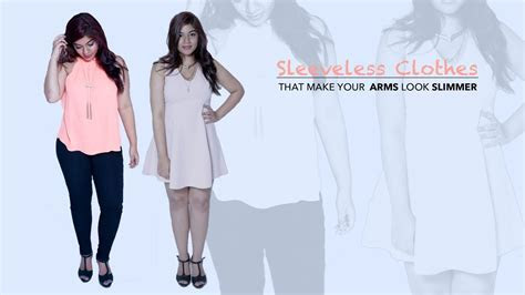 How To Make Your Arms Look Slimmer In Sleeveless Outfits