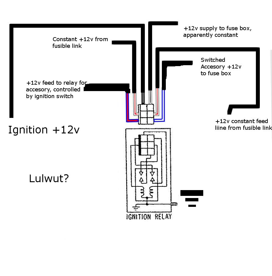 Diagram  3 Pole Solenoid Wiring Diagram Ignition Switch