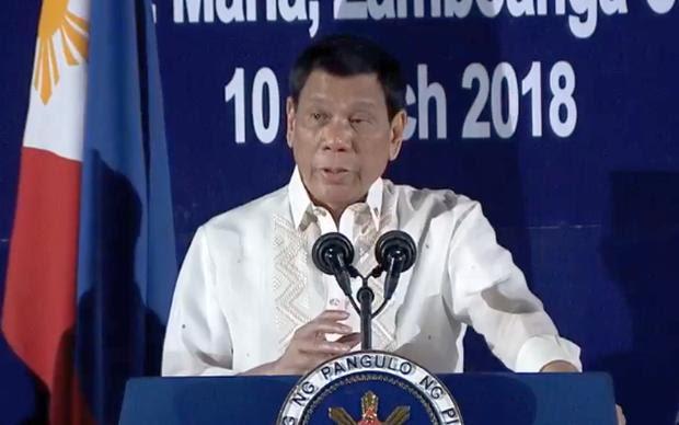Rodrigo Duterte - 10 March 2018