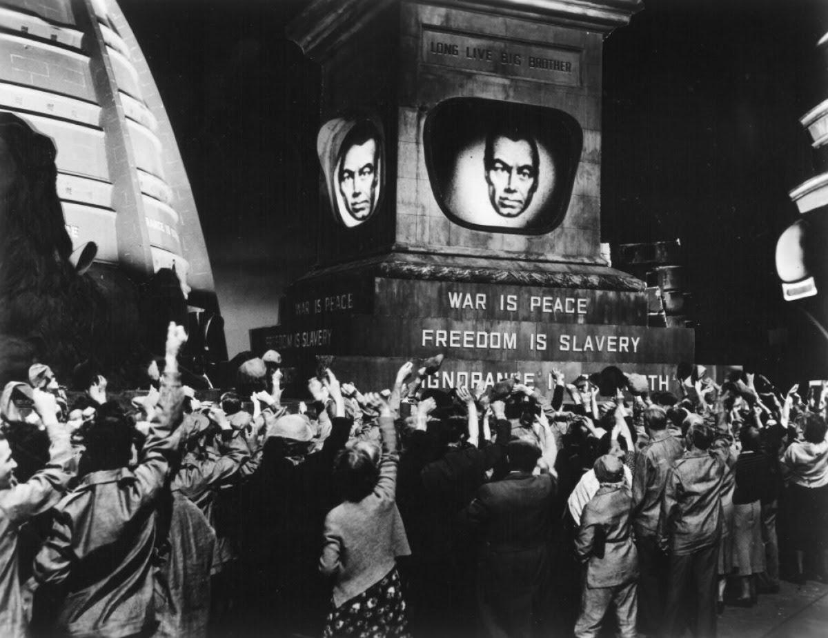 Resultado de imagen para orwell quien escribe el pasado controla