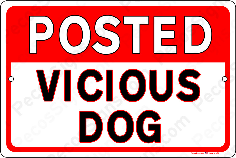 Beware Of Dog Franklin Wholesale Signs And Licence Plates Made