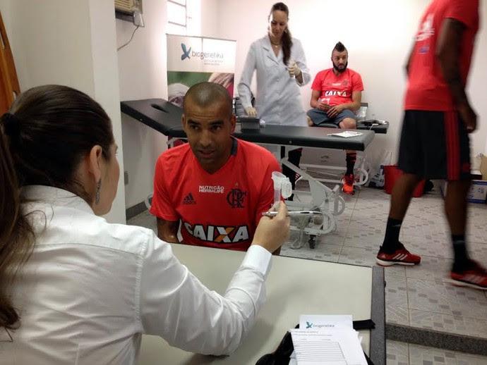 Emerson Sheik Biogenetika Flamengo (Foto: Divulgação)