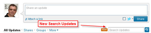 LinkedIn Search Updates