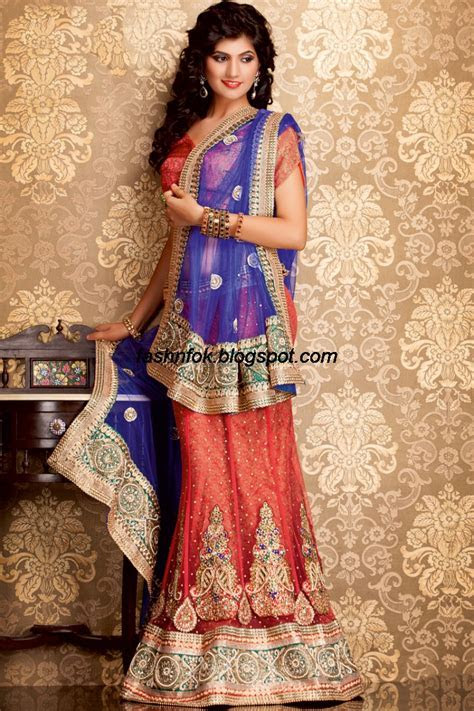 Fashion & Fok: Indian Beautiful Wedding Bridal Wear New