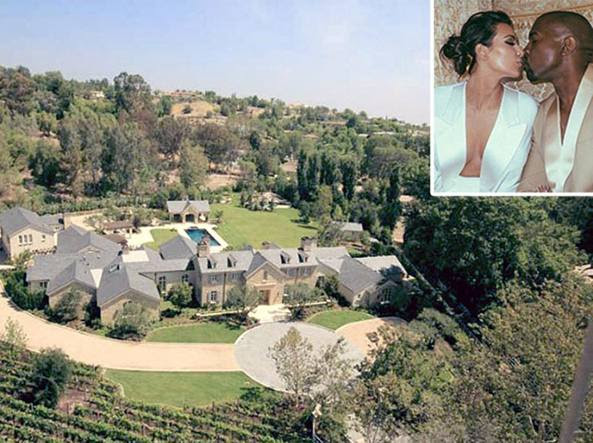 La super villa di Kim Kardashian e Kanye West: valore: 20 milioni di dollari