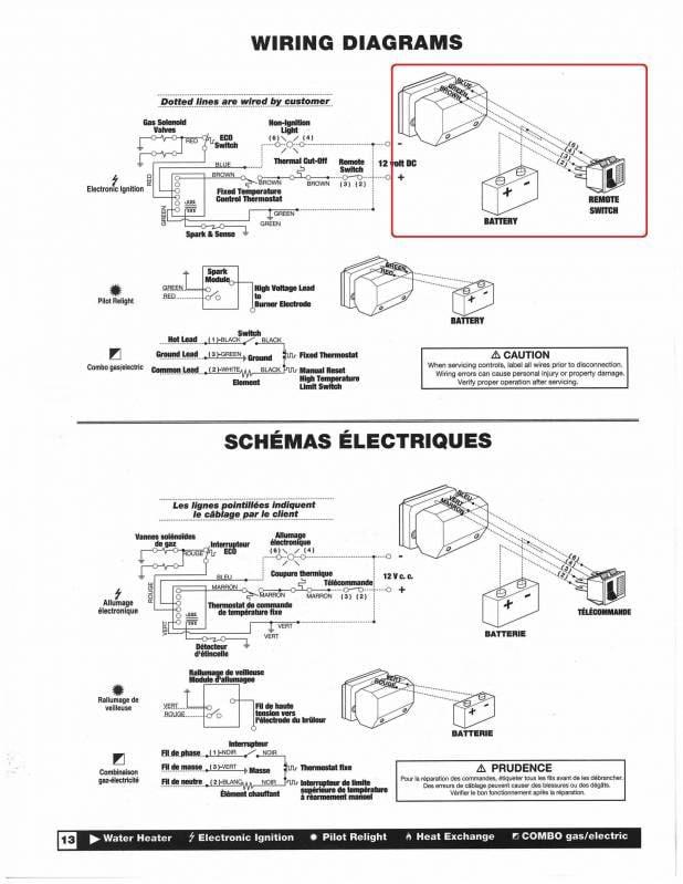Wiring Diagram  32 Atwood Rv Water Heater Wiring Diagram