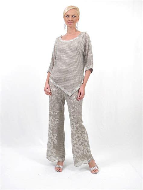 damianou   piece mother   bride pant suit