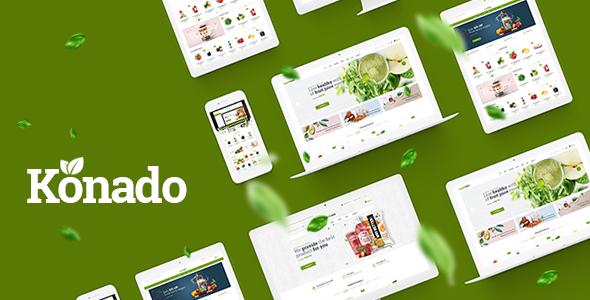 Konado v1.0.3 - Organic Theme for WooCommerce