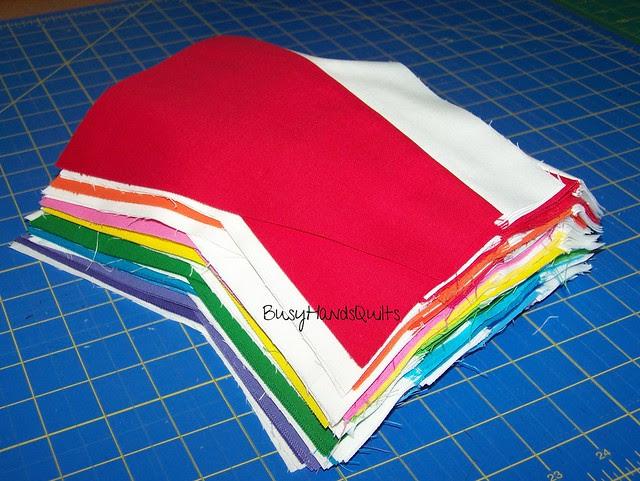 Custom Twin Rainbow Quilt