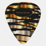 Gold Metallic Zebra Strips   DIY Text Pick