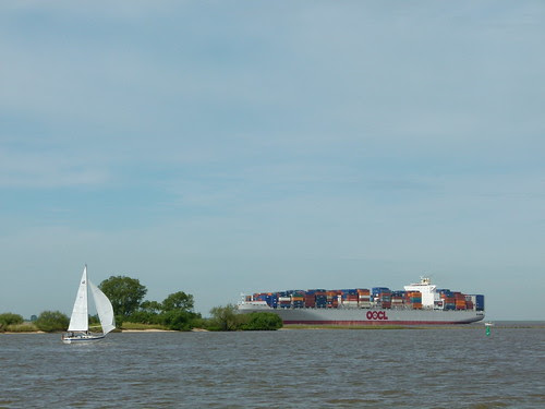 neulich an der Elbe