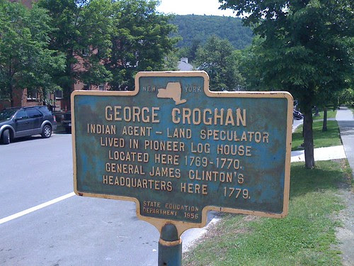 New York Historical Marker - George Croghan