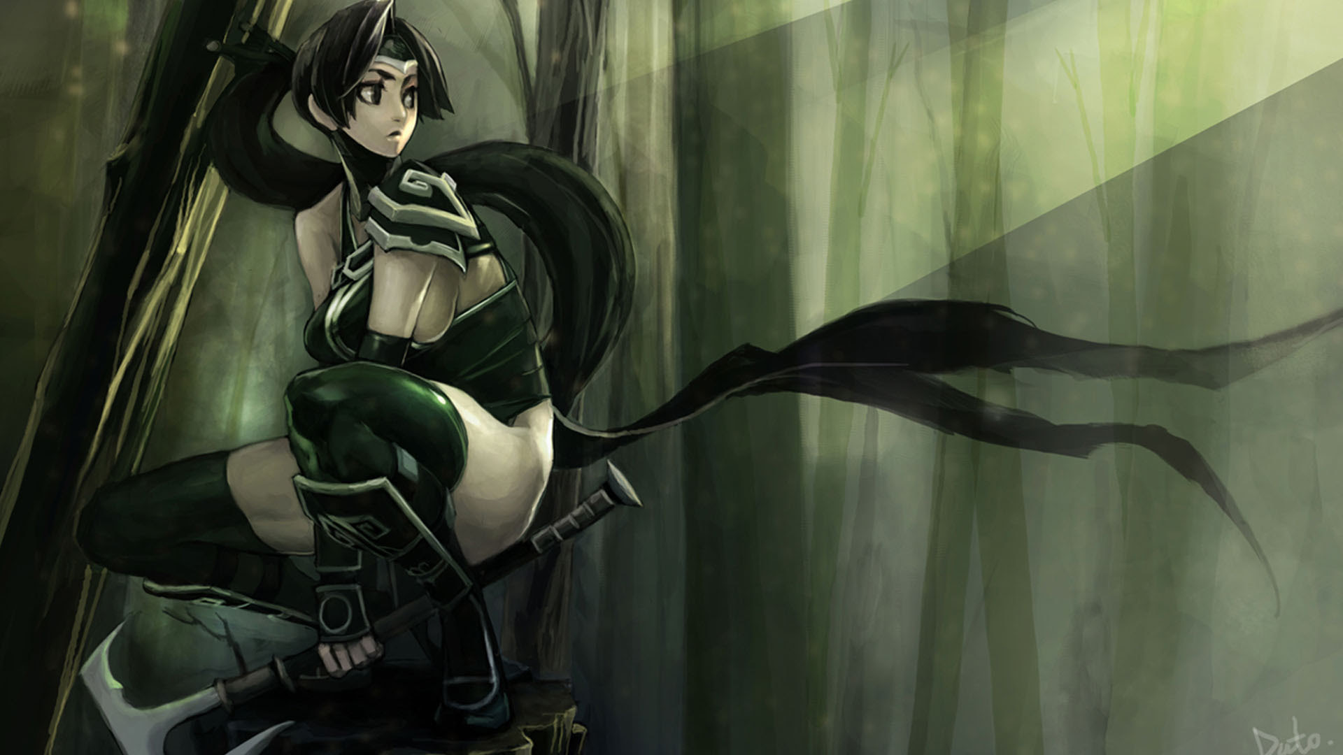 League Of Legends Akali Hd Wallpapers Free Download