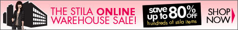 stila online warehouse sale - up to 80% off!