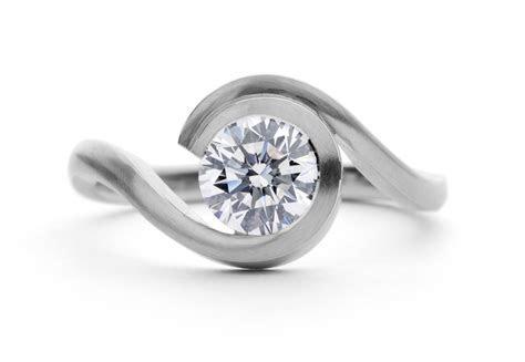 ?Wave? platinum engagement ring   McCaul Goldsmiths