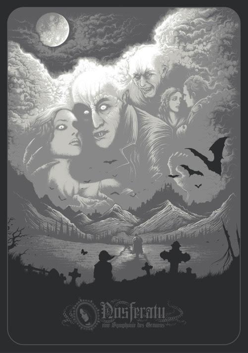 Nosferatu by Dan Mumford