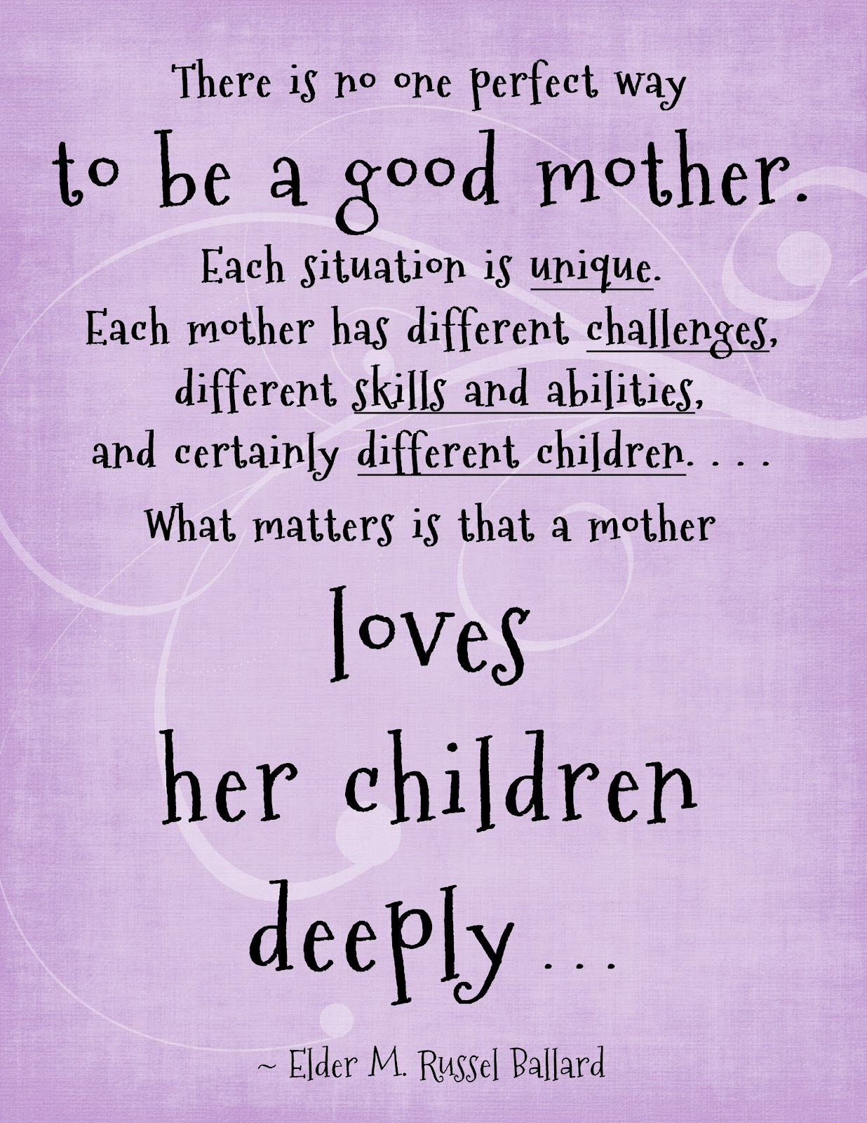 Quotes About Being A Good Mother 52 Quotes