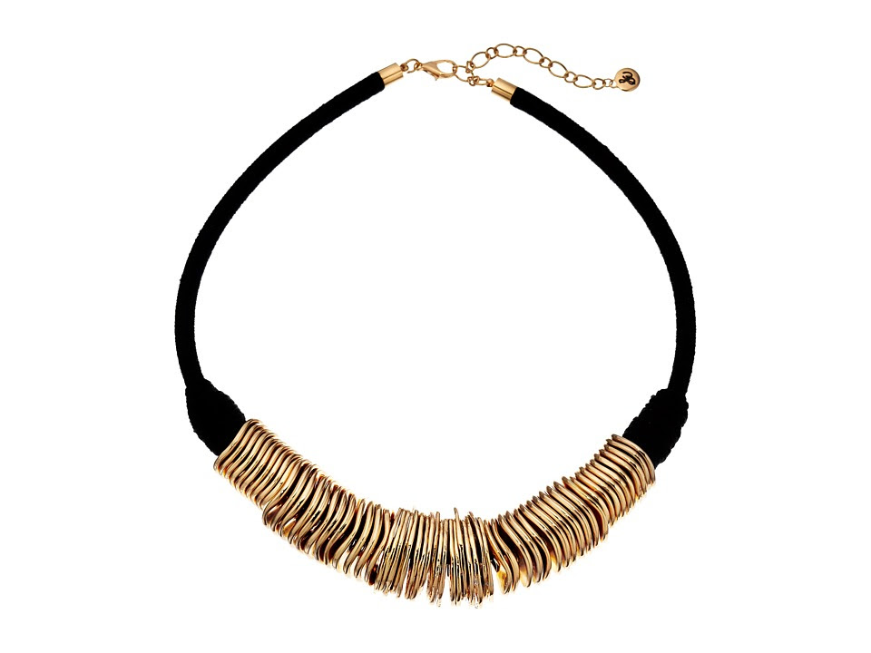 Sam Edelman - Disc Collar 18 Necklace (Gold) Necklace
