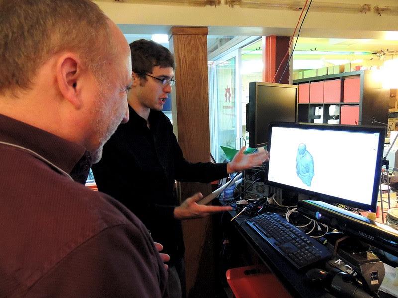 3D workshop at Metrix makerspace Seattle