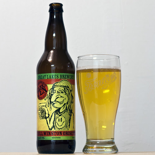 Review: Great Lakes' Chill Winston Grisette (Saison) by Cody La Bière