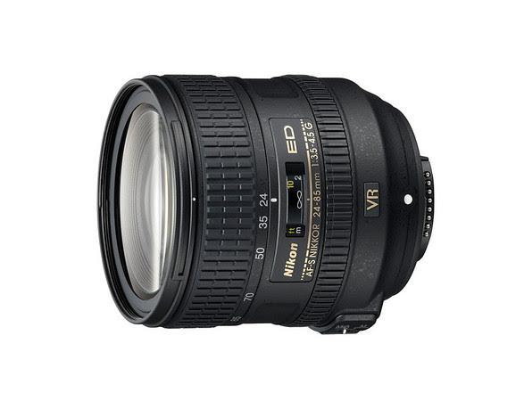 Nikon 24-85mm f/3.5-4.5G ED AF-S VR