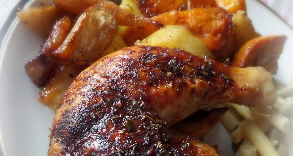 The English Kitchen Roasted Chicken And Vegetable Tray Bake
