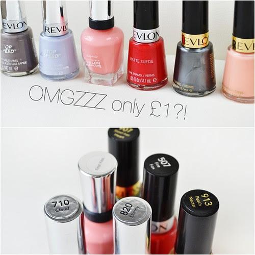 Cheap Revlon nail polish