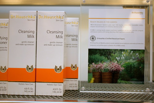 Organic skincare from Dr Hauschka