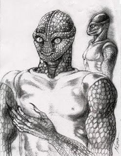 Reptilians And The Council Of 13 | RiseEarth ~ REPTILIANS ARE MUCH MORE BEAUTIFUL THAN THIS PICTURE.